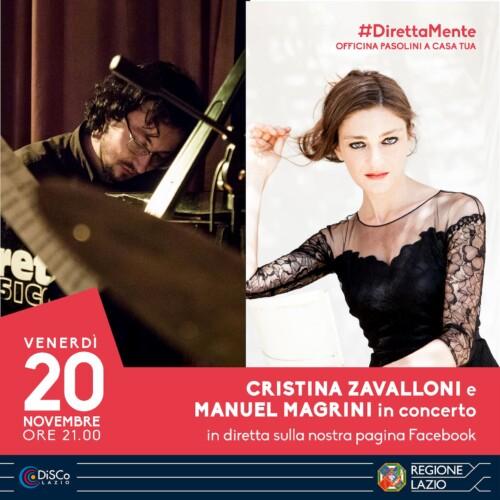 Cristina Zavalloni e Manuel Magrini in concerto