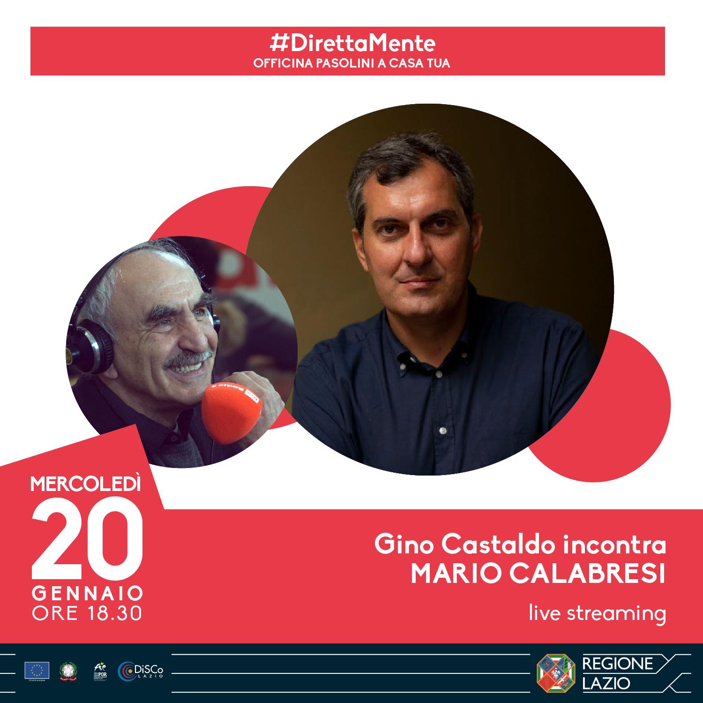 Gino Castaldo incontra Mario Calabresi