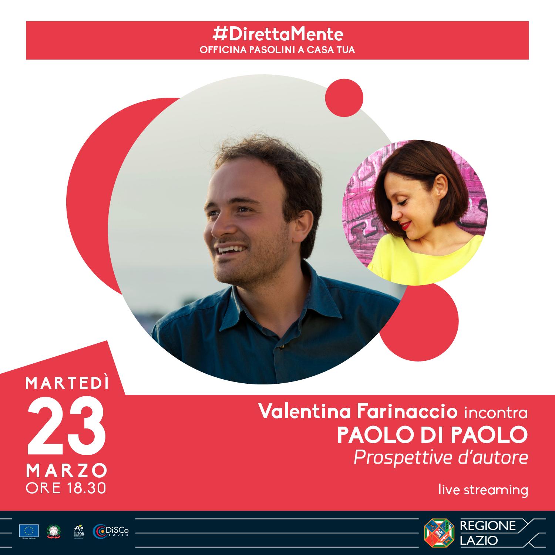 Valentina Farinaccio incontra Paolo Di Paolo