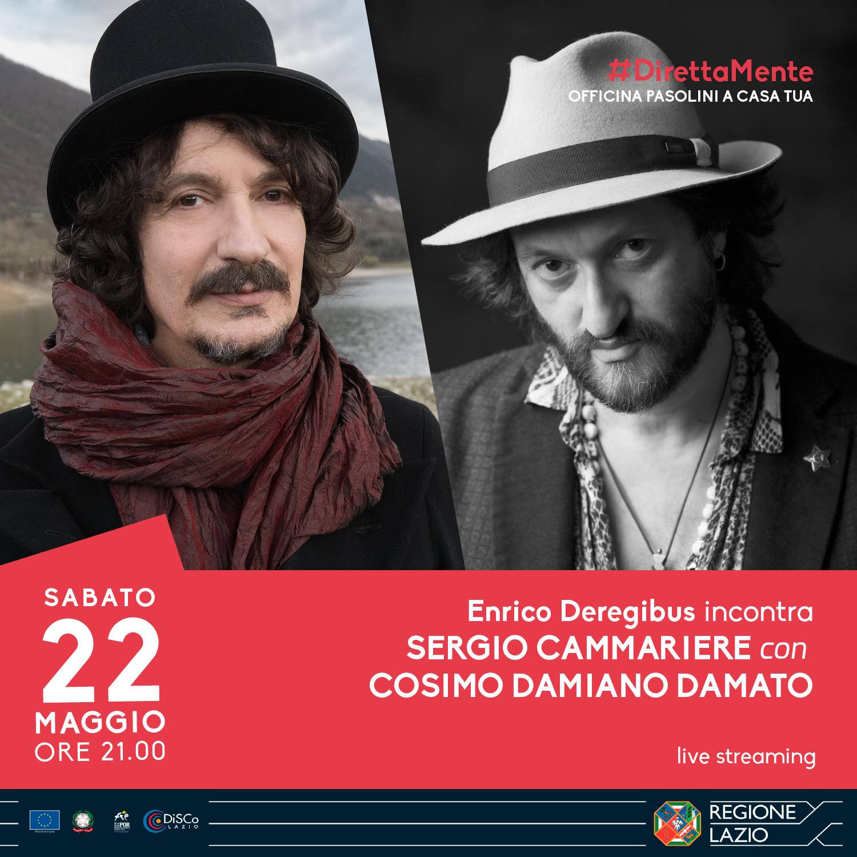 Enrico Deregibus incontra Sergio Cammariere, con Cosimo Damiano Damato