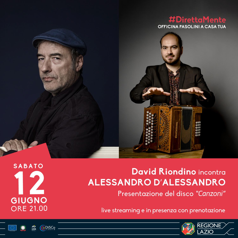 David Riondino incontra Alessandro D'Alessandro