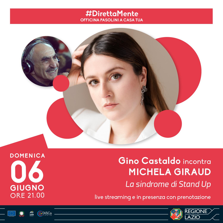 Gino Castaldo incontra Michela Giraud