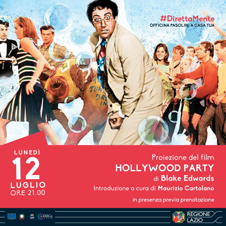 """Proiezione del film """"Hollywood Party"""" di Blake Edwards"""