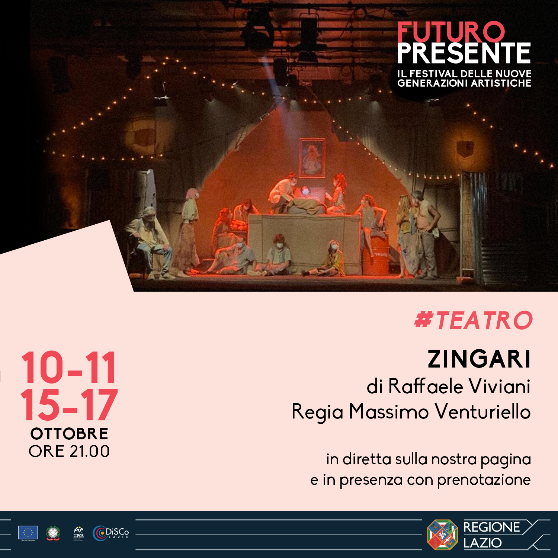 Zingari di Raffaele Viviani. Regia Massimo Venturiello