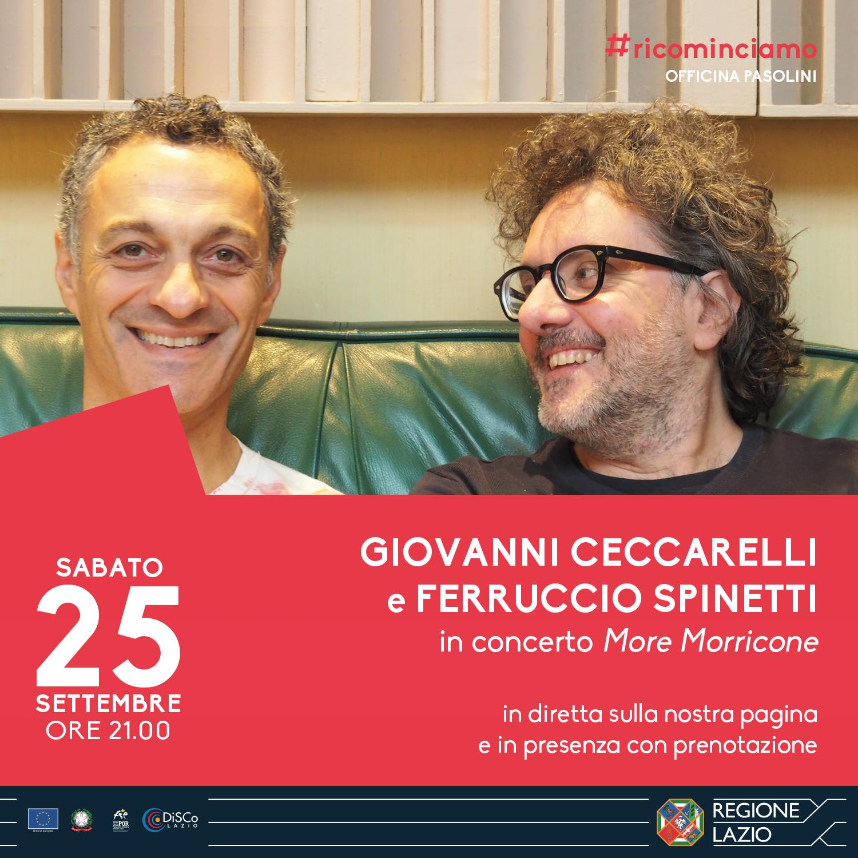 Giovanni Ceccarelli e Ferruccio Spinetti in concerto
