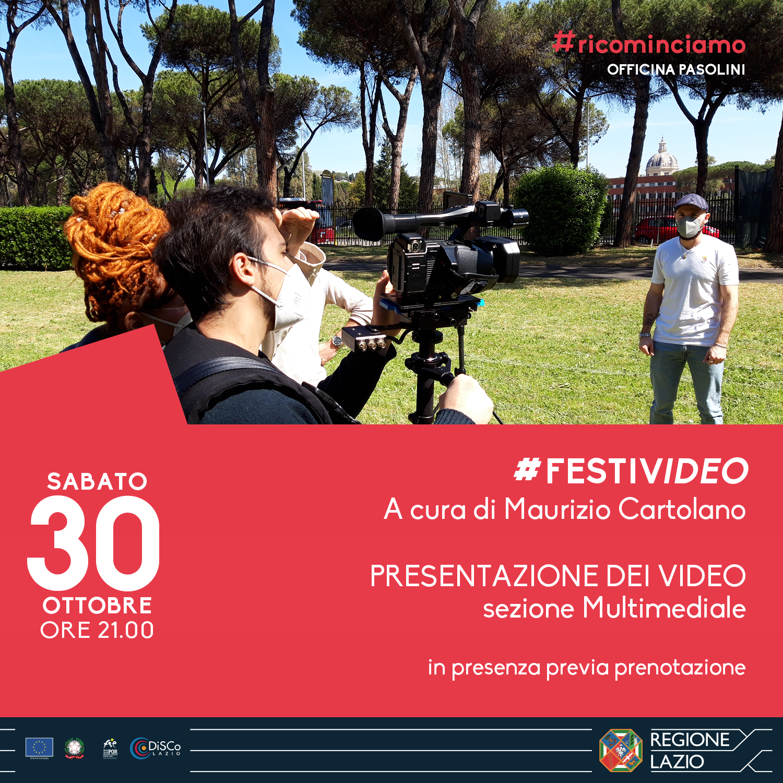 #FESTIVIDEO – A cura di Maurizio Cartolano